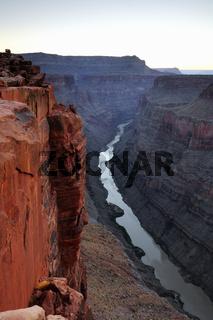 Sonnenaufgang Grand Canyon North Rim, Nordrand, Toroweap Point,