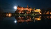 Das Hohenzollern Schloss in Sigmaringen