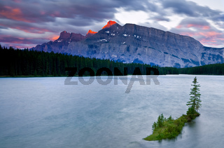 Mount Rundle and Two Jack Lake, Banff National Park