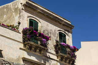 Haus in Syracus, Sizilien, house in Syracuse, Sicily