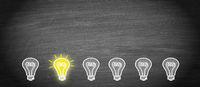 Big Idea and Creativity light bulb concept
