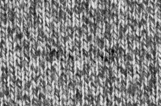 Black and white woven wool texture