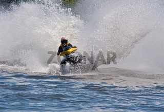 High-speed jetski