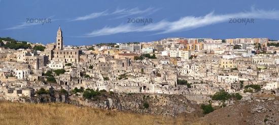 Overview of the Sassi di Matera