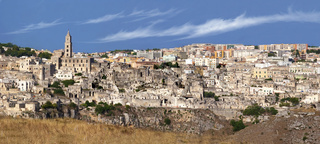 Overview of the Sassi di Matera