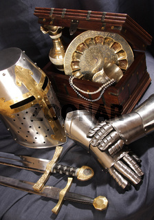Still-life with an armour