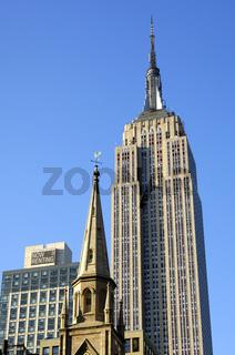 Kirchturmspitze, Empire State Building, New York