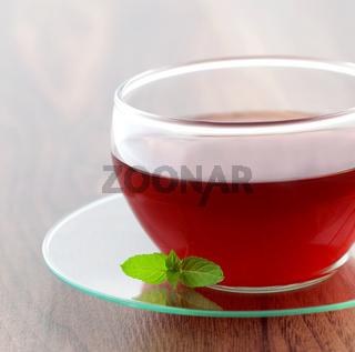 Teetasse mit Minze / tea cup with mint