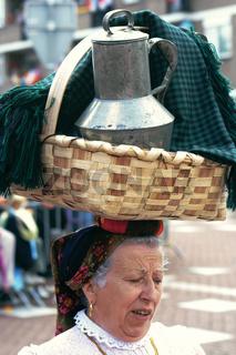 portugees folklore dancer