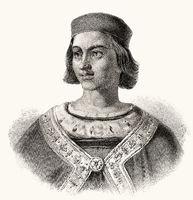 Wenceslaus, Wenceslas, Wenzel, nicknamed the Idle, 1361-1419, German King, King of Bohemia as Wenceslaus IV,