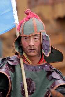 Mongolian warrior