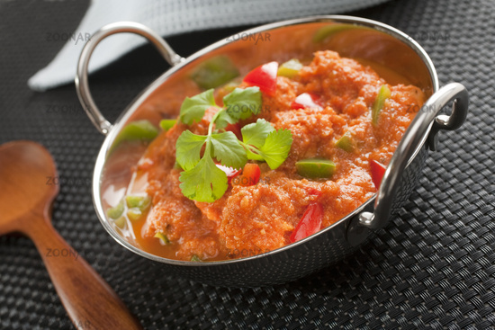 Indian Curry Chicken Jalfrezi