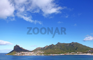 Blick auf Hout Bay, Südafrika, view on Hout Bay, South Africa
