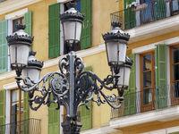 Alte Strassenlaterne Palma de Mallorca