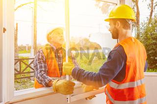 Sanierung oder Modernisierung vom Fenster im Haus