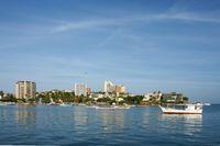 Hafenstadt Karibik
