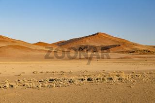 Sanddünen in Sossusvlei, Namibia, sand dunes in Sossusvlei, Namibia