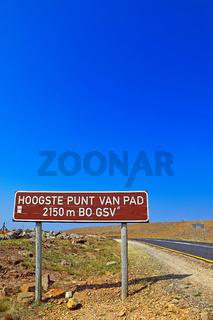 Am berühmten Long Tom Pass, Mpumalanga, Südafrika, at famous Long Tom Pass, South Africa