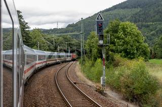 Mit der Eisenbahn über die Frankenwaldrampe