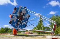 Einzelteleskop des Cherenkov Telescope Array, Berlin-Adlershof, Deutschland