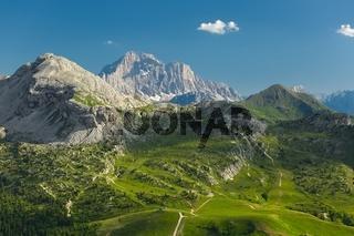 Dolomites Summer Landscape