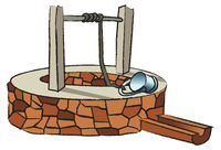 Mittelalterlicher Brunnen