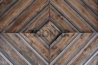 Detail einer alten Holztüre