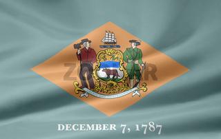 Flagge von Delaware - USA