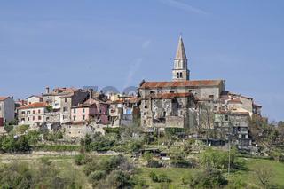 Buzet in Istrien