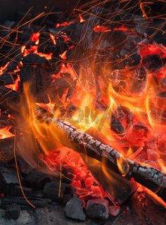 Abstract photo of flame