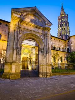 Basilika Saint-Sernin, Toulouse, Frankreich