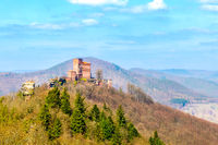 Castle Trifels in the palatine forest