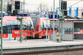 Regionalexpress in Leipzig Nord