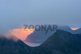 Sommernacht, Vestvagoeya, Lofoten