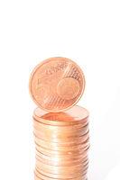 5 cent Stapel