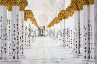 Sheikh-Zayed-Moschee Marmorsäulen
