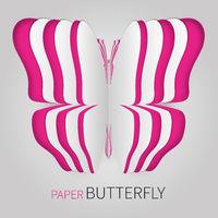 Mehrfacher Papier Schmetterling