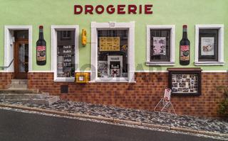 Drogeriefassade in der Altstadt