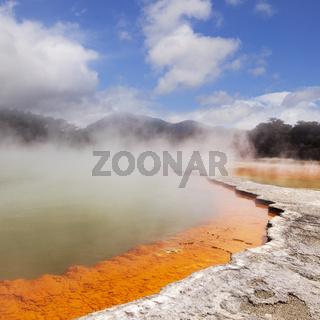 Champagne Pool Rotorua New Zealand
