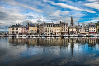 Old port of Honfleur, Normandy, France
