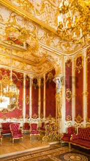 Luxury light interior of sitting room