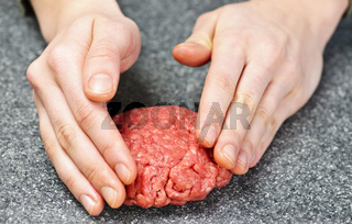 Cooking with ground beef