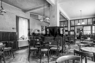 Nostalgisches Kaffeehaus in Sangerhausen (Sachsen-Anhalt)