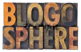 blogosphere word abstract