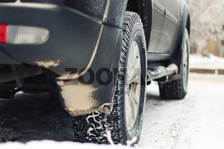 car frost winter