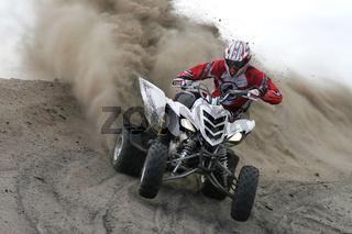 Yamaha Quad im Gelände | Yamaha Quad in action