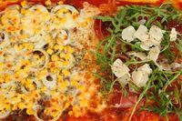 selbstgemachte Familienpizza