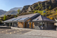 Visitor centre at Llyn Idwal