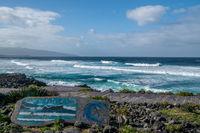 blue waves of santa bárbara, azores