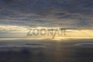Abendstimmung uber dem Atlantik, Moskenesoeya, Lofoten